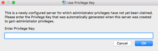 teamspeak 3 privilege key